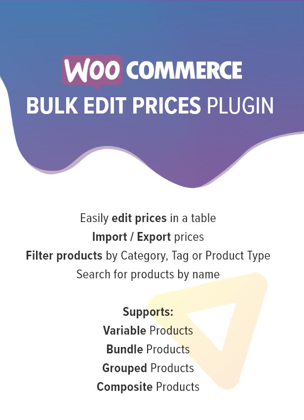 WooCommerce Bulk Edit Product Prices - 1