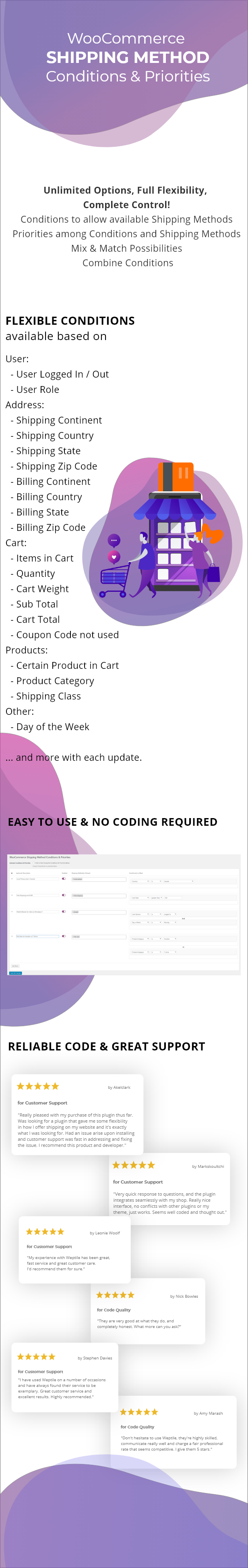 WooCommerce Shipping Method Conditions & Priorities - 1